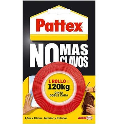 PATTEX NO MAS CLAVOS CINTA ADHESIVA DOBLE CARA