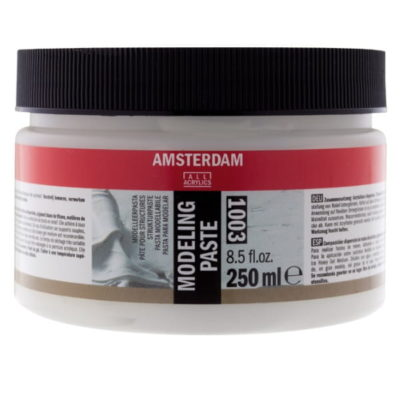 modeling paste amsterdam all acrylics art creations